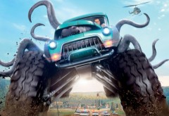 фильм, мнстр-траки, monster trucks, обои, машина