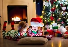 дети, гирлянда, Новый год, украшение, child, елка, toys, New Year, …