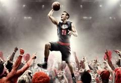 Найк, баскетбол, мяч, форма, атлет, реклама, nike, обои, HD