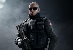 Джек, Pulse, Эстрада, защита, оперативник, SWAT, ФБР, Rainbow Six, Siege, Радуга шесть, шутер, игра, обои, HD