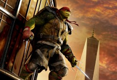черепашка-ниндзя, Mutant, Ninja, Turtles, обои, HD, Черепашки-ниндзя, Рафаэль, Raphael