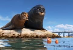 Дори, рыбка, синева , мультфильм, море, дисней, Pixar, Disney,  �…