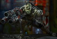 скарджи, Unreal Tournament, фракция Skaarj, reptilian, рептилион, игра, �…