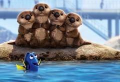 Дори, рыбка, синева, Finding Dory, мультфильм, море, В поисках …