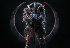 Scale Bearer, Quake Champions, Game, квейк, игра, фэнтези, шутер