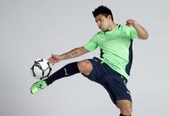 Серхио Агуэро футболист нападающий Манчестер Сити обо…