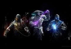 Мортал Комбат, Scorpion, скорпион, Mortal Combat, игра, Sub Zero, Raiden, С…