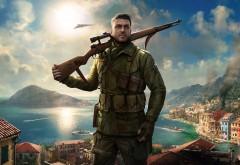 Sniper Elite 4, game, элитный снайпер, винтовка, игра, город обои…