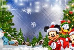 Снеговик и наши любимые Диснеевские герои