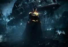 Injustice 2, Несправедливость 2, superman, Супермен, город, игра, �…