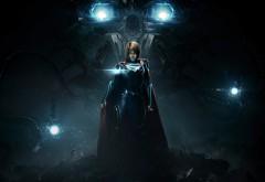 Injustice 2, Несправедливость 2, supergirl, Супергерл, город, игра, обои
