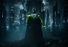 Injustice 2, Несправедливость 2, batman, Бэтмен, город, игра, обо�…