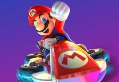 Mario Kart 8 Deluxe гоночная игра обои
