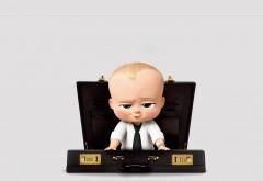4k, 3840x2160, Ребёнок-босс, мультфильм, малыш, 2017