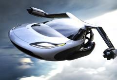 3840x2160,4k, Terrafugia TF-X, летающий автомобиль, Террафугиа обои HD