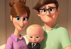 Ребёнок-босс, мультфильм, малыш, 2017, семья, мама, папа