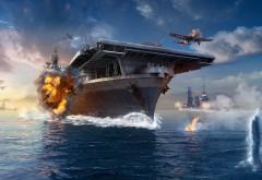 Мир военных кораблей, World of Warships, игра, game, корабли обои H…