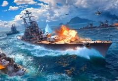 World of Warships, игра, game, Мир военных кораблей, корабли обои H…