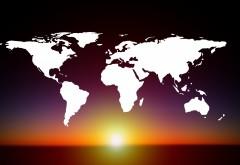 карта мира обои HD