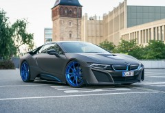 BMW i8 суперкар от German Special Customs обои HD