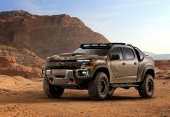 Chevrolet Colorado ZH2 водородный пикап для армии США обои