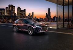 2016 Lexus UX Luxury Crossover Concept кроссовер обои HD