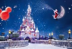 Замок и Дед Мороз сидит на Луне
