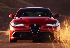 2017 Alfa Romeo Giulia Quadrifoglio обои автомобиля