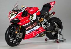 2017 Aruba WorldSBK Ducati Corse Panigale R супербайк мотоцикл обои HD