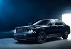 Обои HD тюнинг, бэнтли, 2017, Bentley, Bamford, Mulliner, Speed, седан, люкс