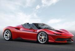 2017 Ferrari J50 красный спорткар обои HD