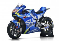 2017 ECSTAR Suzuki Team MotoGP bike