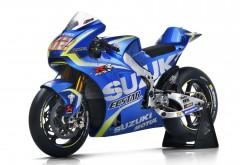 2017 ECSTAR Suzuki Team MotoGP bike