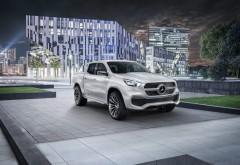 Mercedes-Benz, мерседес,  пикап, город, грузовичок обои