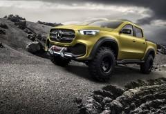 2017 Mercedes-Benz Concept X Class Pickup Adventurer концепт пикап  обои