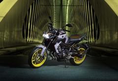 2017 Yamaha MT 09 Europe обои мотоцикла