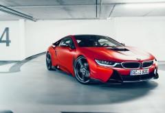 4k, 3840x2160, 2017 BMW i8 AC Schnitzer ACS8 Sport обои hd