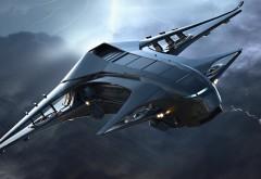 Космический корабль Genesis Starliner, Star Citizen обои фэнтези ави…