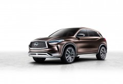 Infiniti QX50 Luxury Crossover 2017 обои hd