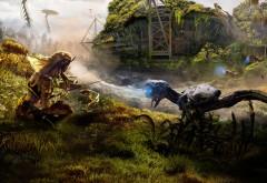Обои Horizon Zero Dawn Британские города в стиле игры