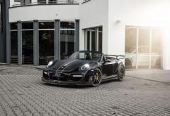 2017 TechArt Porsche 911 Turbo GT Street R Cabriolet обои HD