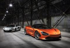 2018 McLaren 720S обои hd