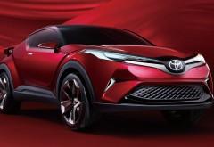 2018 Toyota C-HR компактный паркетник обои 4k 3840x2160