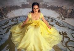 Красавица и чудовище, желтое платье, бал, Эмма Уотсон, ш…