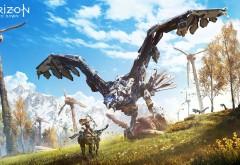 Horizon Zero Dawn игра широкоформатные обои