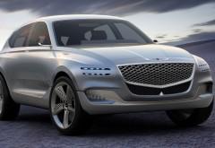 водородный внедорожник Genesis GV80 Fuel Cell Concept обои HD