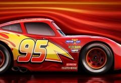 Молния Маккуин, тачки 3, мультфильм, гонки, скорость, та�…