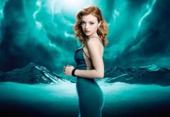 Molly Walker, платье, девушка, сериал, Герои Возрождение обои
