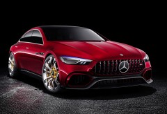Mercedes AMG GT Concept 2017 обои HD