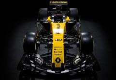 Renault RS 17 2017 болид формулы 1 обои 4K 3840x2160
